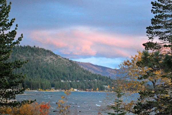 Wall Art - Photograph - Lake Tahoe Sunset by Linda Sramek