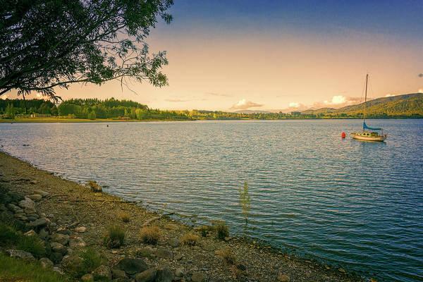 Photograph - Lake Te Anau New Zealand Morning by Joan Carroll