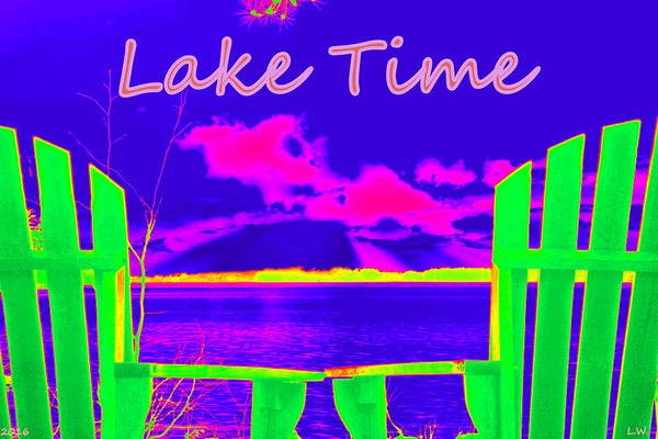 Photograph - Lake Time by Lisa Wooten