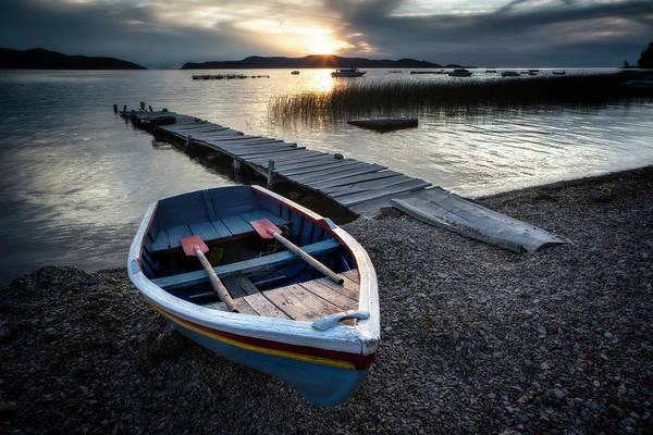 Puno Photograph - Lake Titicaca Isla De La Luna Sunset by Dirk Ercken