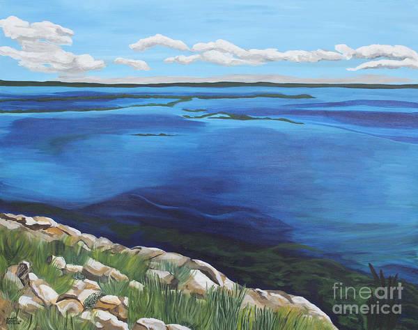 Painting - Lake Toho by Annette M Stevenson