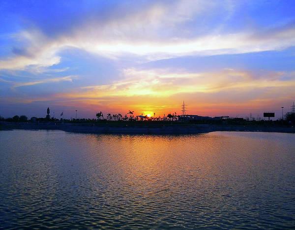 Photograph - Lake View Sunset by Atullya N Srivastava