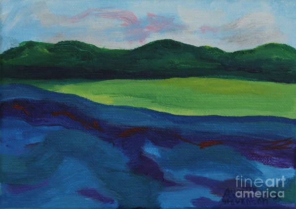 Painting - Lake Visit by Annette M Stevenson