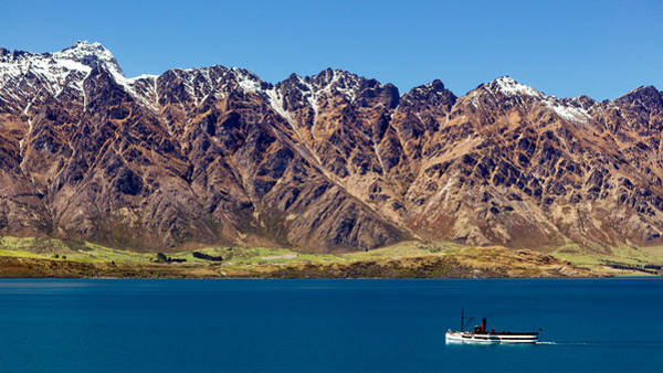 Photograph - Lake Wakatipu And The Remarkables by Nicholas Blackwell