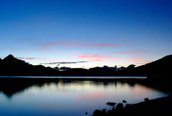 Photograph - Lake Wakatipu Dusk by Nicholas Blackwell