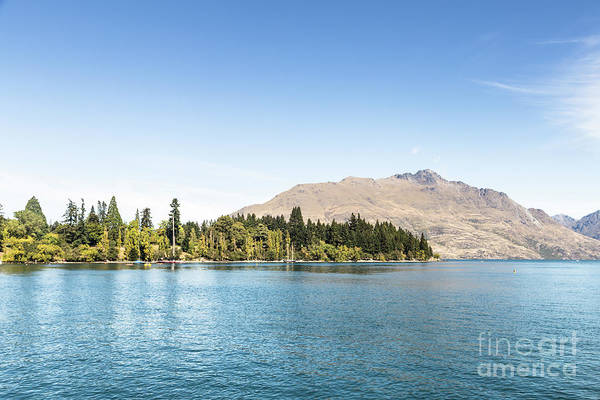 Photograph - Lake Wakatipu In Queenstown In New Zealand by Didier Marti