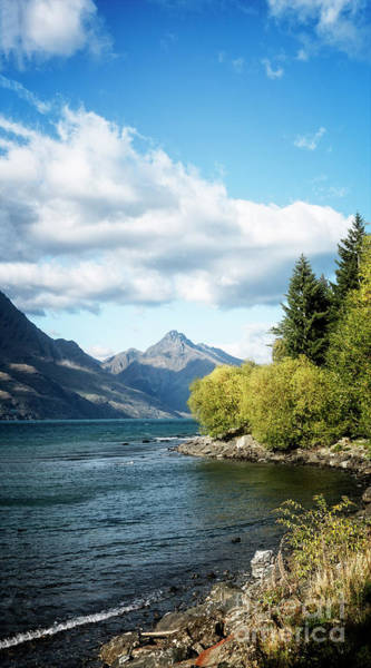 Photograph - Lake Wakatipu by Scott Kemper