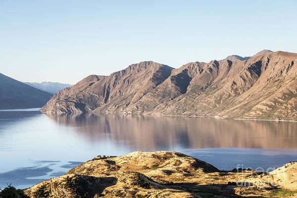 Photograph - lake Wanaka in New Zealand south island by Didier Marti