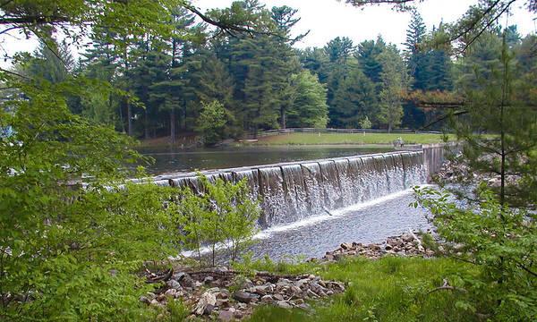 Wall Art - Photograph - Lake Waterfall by Bill Cannon