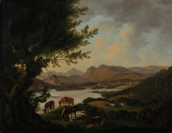 Windermere Painting - Lake Windermere by Celestial Images