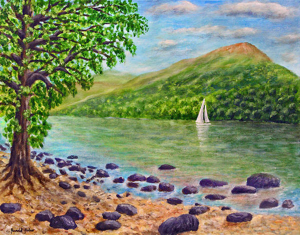 Windermere Painting - Lake Windermere - Lake District by Ronald Haber