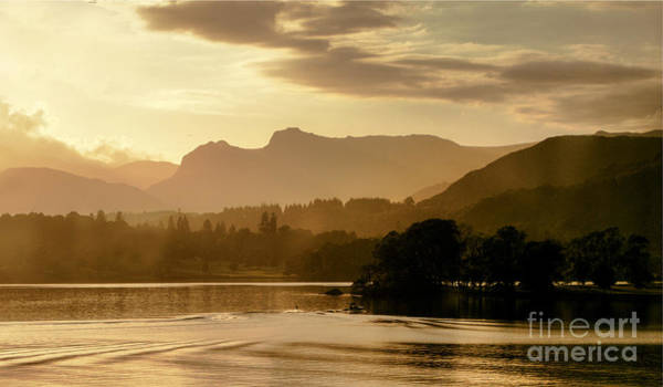 Photograph - Lake Windermere Two by Lance Sheridan-Peel