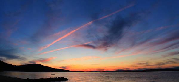 Lake Winnipesaukee Wall Art - Photograph - Lake Winnipesaukee Sunset by Steve Anthony