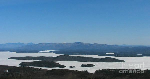 Lake Winnipesaukee View From Mt. Major Art Print