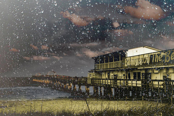 Photograph - Lake Worth Pier After The Storm by Wolfgang Stocker