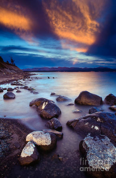 Nps Photograph - Lake Yellowstone by Inge Johnsson