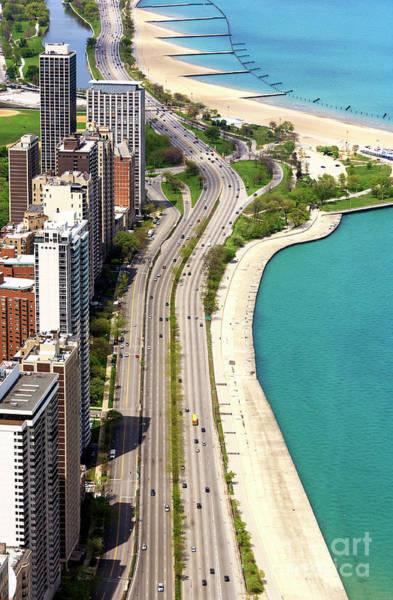 Photograph - Lake Shore Drive Chicago by John Rizzuto