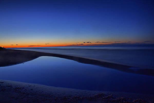 Photograph - Lakeshore Sunrise by CA  Johnson