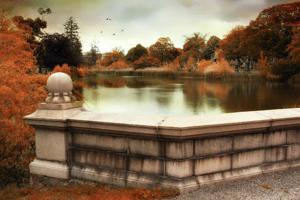Photograph - Lakeside At Woodlawn by Jessica Jenney