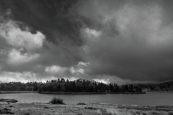 Photograph - Lakeside Clouds by TM Schultze