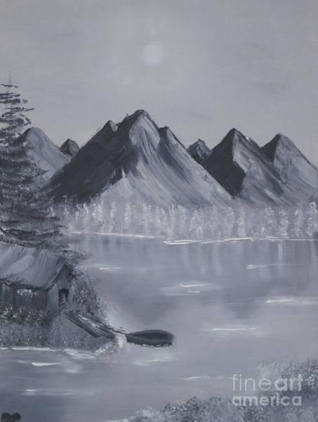 Adirondack Mountains Painting - Lakeside Hideaway by Danielle Paredi