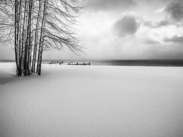Wall Art - Photograph - Lakeside In Winter by Steve Spiliotopoulos