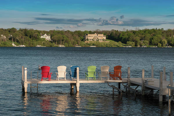 Lake Geneva Wall Art - Photograph - Lakeside Living Number 3 by Steve Gadomski
