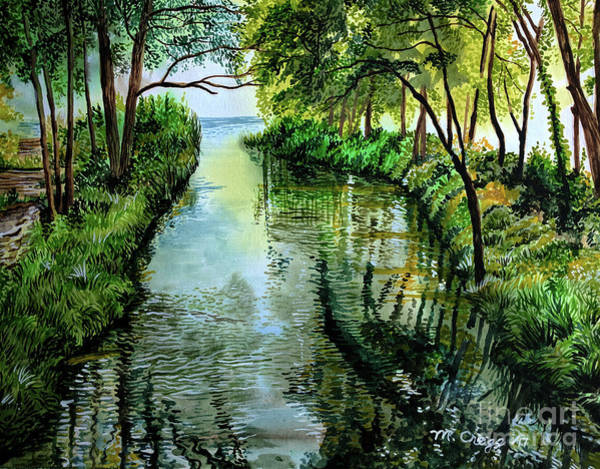 Kingsville Painting - Lakeside Park by Mary-Beth Cragg