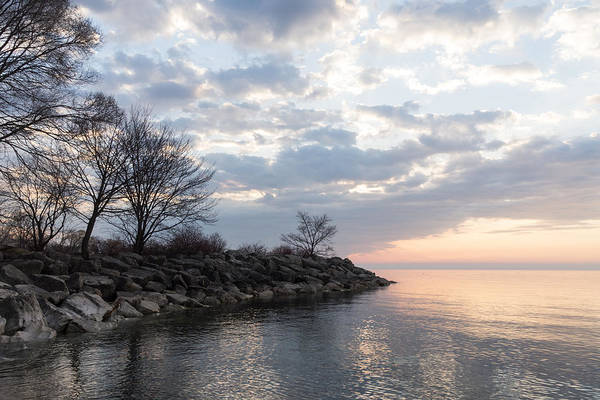 Promontory Point Photograph - Lakeside Peace And Tranquility by Georgia Mizuleva