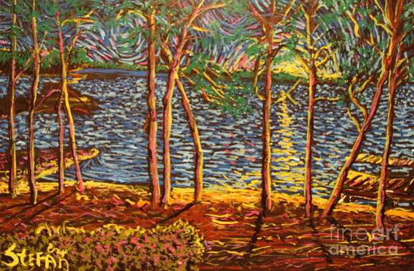 Painting - Lakeview At Trump National by Stefan Duncan