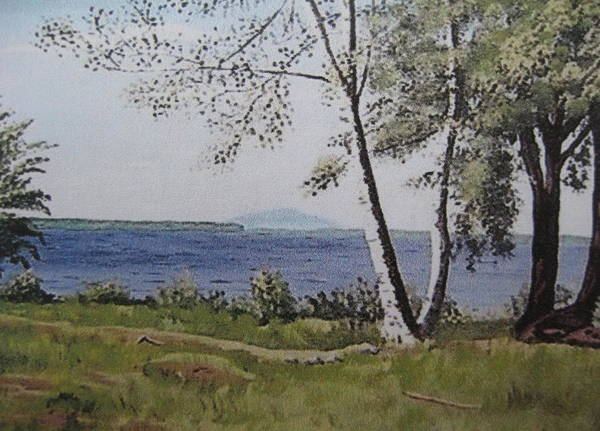 Lakeview Landing Art Print