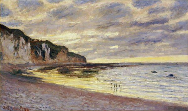 Wall Art - Painting - Lally Point, Low Tide, 1882 by Claude Monet