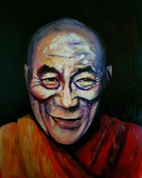 Painting - Lama by Carole Hutchison
