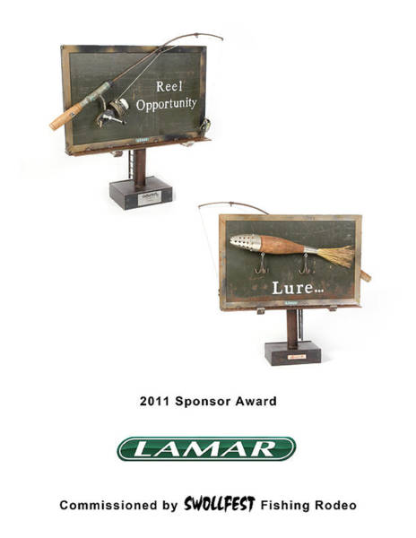 Wall Art - Mixed Media - Lamar Advertising by Benjamin Bullins