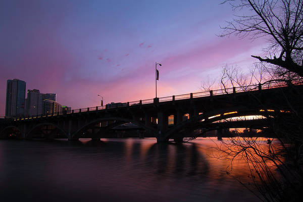 Photograph - Lamar Blvd Bridge by Jay Anne Boza