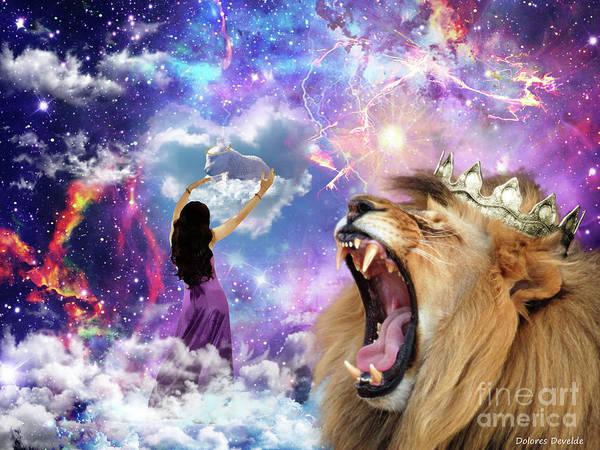 Lamb Of God Wall Art - Digital Art - Lamb Of God by Dolores Develde