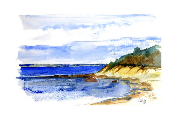 Painting - Lambert Cove by Paul Gaj
