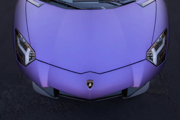 Photograph - #lamborghini #aventador #print by ItzKirb Photography