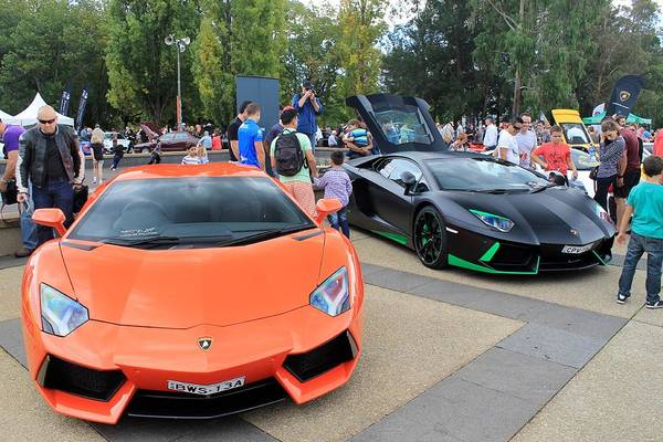Transport Photograph - Lamborghini Aventadors by Anthony Croke