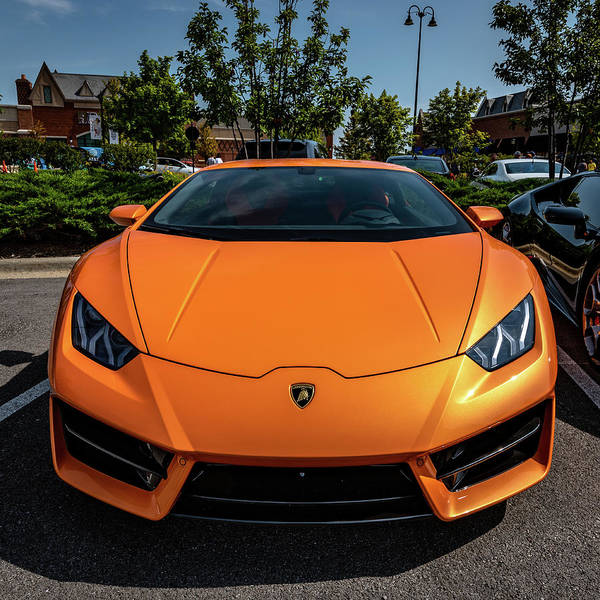 Photograph - Lamborghini Huracan by Randy Scherkenbach