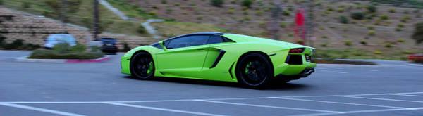 Digital Art - Lamborghini by Maye Loeser