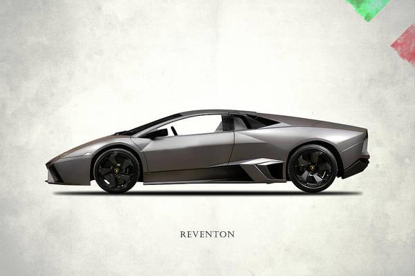 Supercar Photograph - Lamborghini Reventon by Mark Rogan