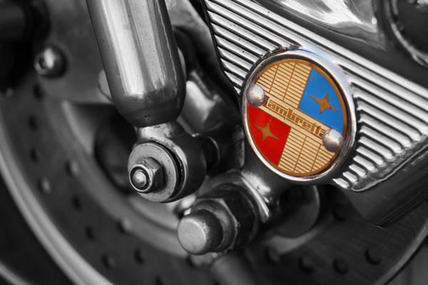Motor Scooter Photograph - Lambretta by Mark Rogan