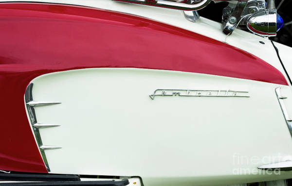 Photograph - Lambretta Red by Tim Gainey