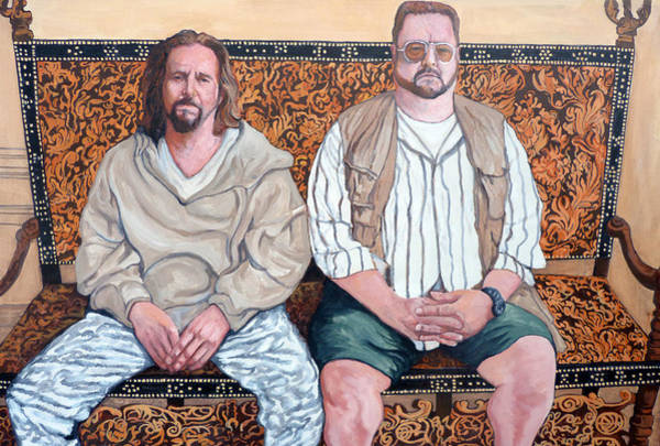 The Big Lebowski Painting - Lament For Donny by Tom Roderick