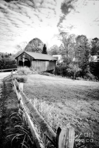 Photograph - Lamoille River Bridge by Scott Kemper