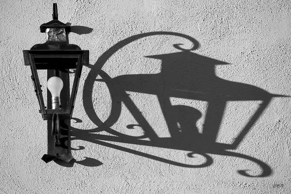 Photograph - Lamp And Shadow by David Gordon
