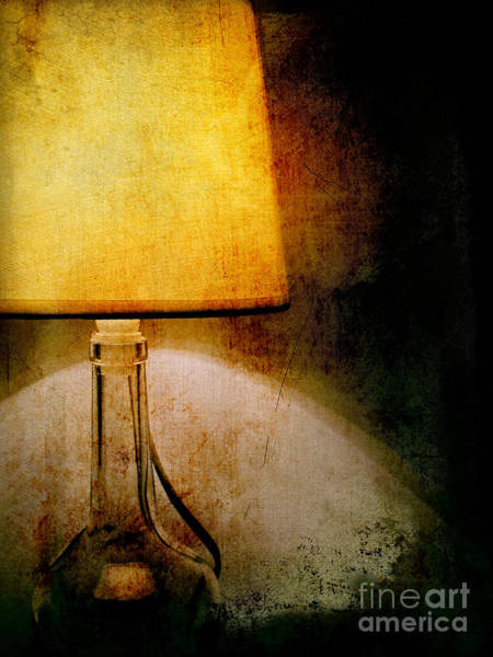 Photograph - Lamp by Silvia Ganora