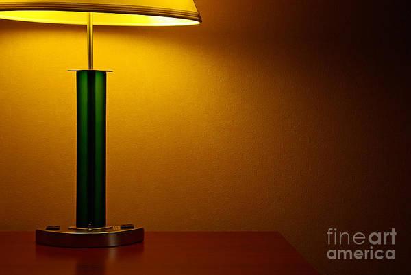Wall Art - Photograph - Lamp by Zal Latzkovich