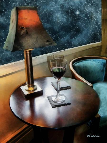 Painting - Lamplight And Stars by RC DeWinter